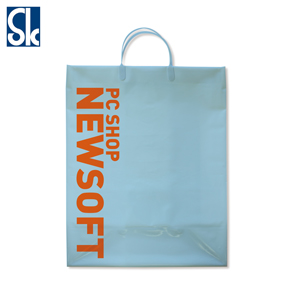 Plastic handle bag
